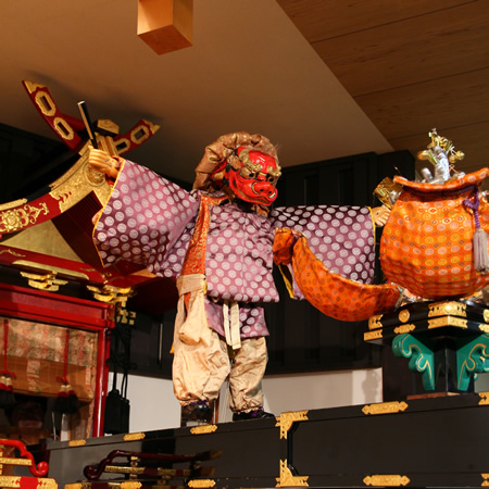 Daikoku-sama no Shishi-mai (Mahakala's lion dance)